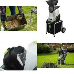 Earthwise 15 Amp Electric Corded Motor Garden Woods Chipper
