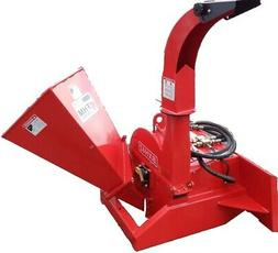 """3"""" Feed Wood Chipper Skid Steer Mount Direct Connect"""