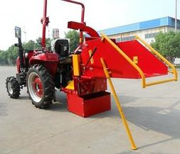 """Jinma 8"""" Wood Chipper / Auto Feed / 3 Point mount"""