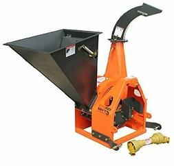 """6"""" Gravity Feed Drum Wood Chipper 3pt"""