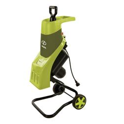 Electric Wood Chipper/Shredder 15 Amp Stainless Steel Chippe