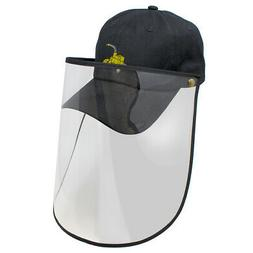 Face Shield Baseball Cap Wood Chipper Machine Embroidery Mes
