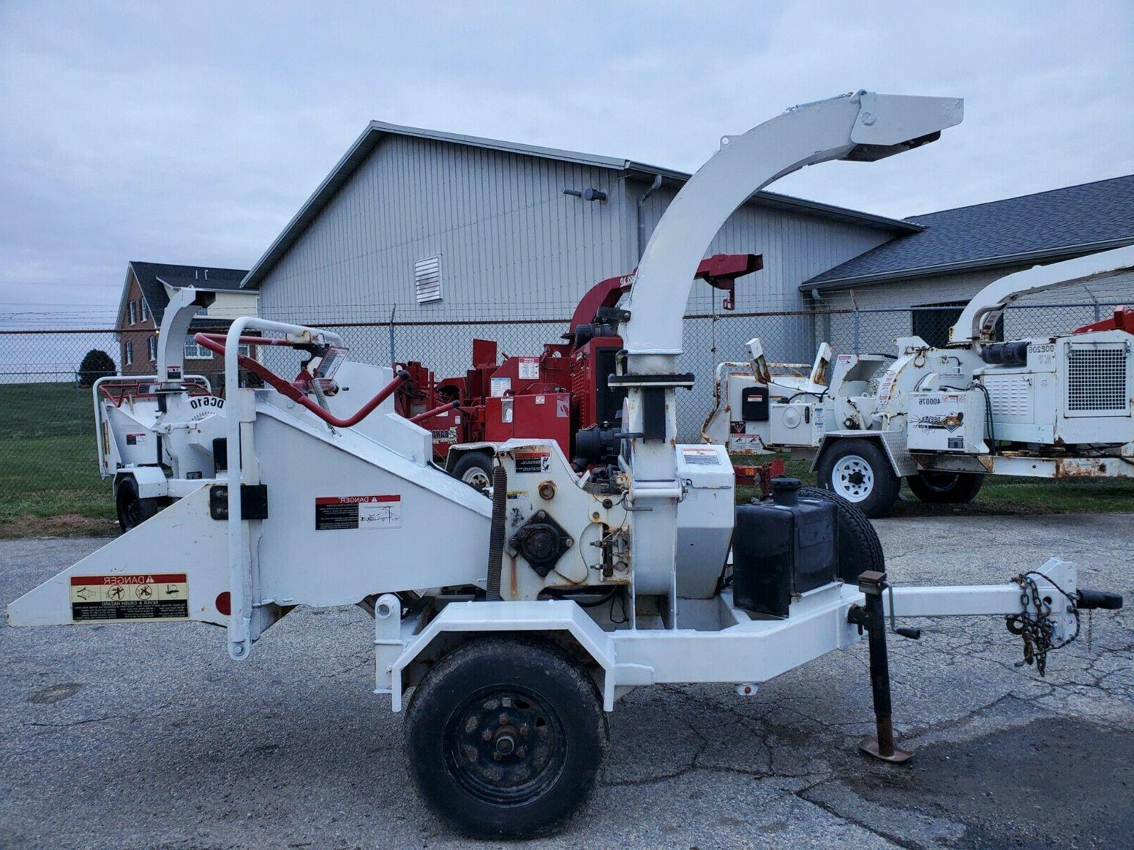 """2013 Altec DC610 6"""" Disc Brush Wood Chipper ONLY 538 HOURS 1"""