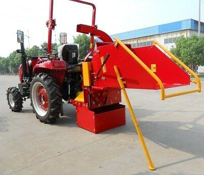 8 wood chipper auto feed 3 point