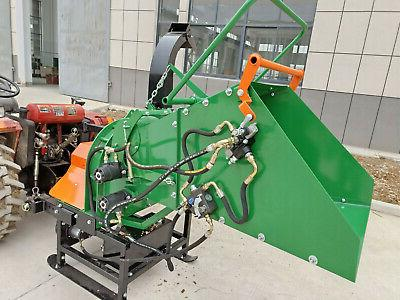 new 8 commercial wc8h pto drive wood