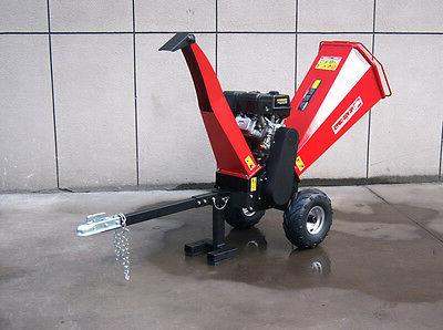 powerful 15hp gas gasoline powered wood chipper