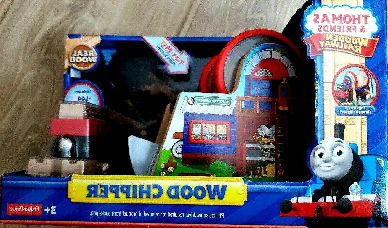 thomas and friends wooden wood chipper nib