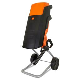 Wood Chipper Shredder Rolling Electric Compact Powerful Moto
